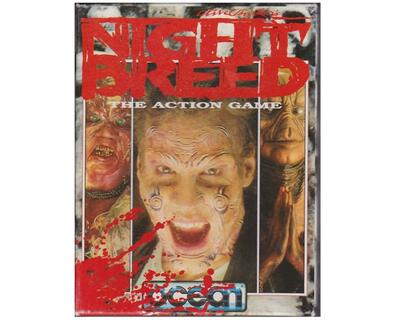 Night Breed : The Action Game (bånd) (papæske) (Commodore 64)