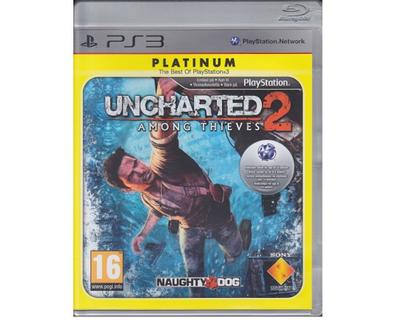 UnCharted 2 : Among Thieves (platinum) (PS3)