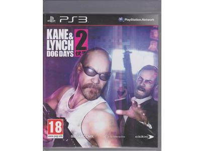 Kane & Lynch 2 : Dog Days (PS3)