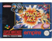 Space Ace (ukv) m. kasse og manual (SNES)
