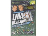 LMA Manager 2003 (forseglet) (Xbox)