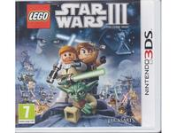 Lego Star Wars III : The Clone Wars (3DS)