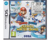 Mario & Sonic at the Olympic Winter Games u. manual (Nintendo DS)