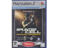 Splinter Cell : Pandora Tomorrow (platinum) (PS2)