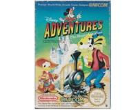 Adventures in Magic Kingdom (scn) m. kasse (slidt) og manual (NES)