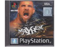 WCW : Mayhem u. manual