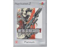 Metal Gear Solid 2 : Sons of Liberty (platinum)