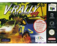 V-Rally Edition 99 m. kasse og manual
