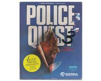 "Police Quest 3 : The Kindred m. kasse og manual (3.5"" disk)"