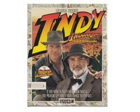 "Indiana Jones and the Last Crusade m. kasse og manual (5.25"" disk)"