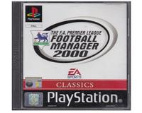 Football Manager : The F.A. Premier League 2000 (classics) (PS1)