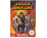 Shadow Warriors (scn) m. kasse (slidt) og manual (NES)