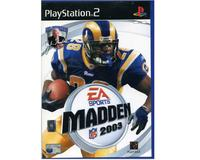 Madden NFL 2003 u. manual