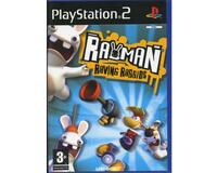 Rayman Raving Rabbids u. manual (PS2)