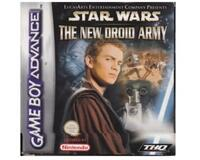 Star Wars : The New Droid Army m. kasse og manual