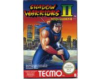 Shadow Warriors II (esp) m. kasse og manual (NES)