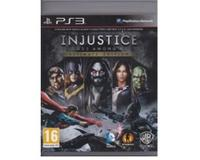 Injustice : Gods Among us (ultimate edition) (PS3)