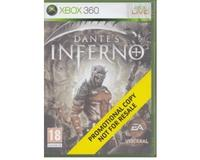 Dantes Inferno u. manual (promotional copy)