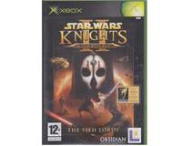 Star Wars Knights og the Old Republic II : The Sith Lords