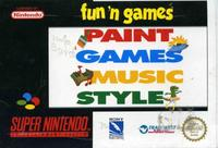 Fun´n games (ukv) m. kasse og manual (SNES)