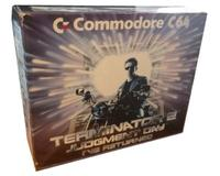 Commodore 64C m. kasse  og manual (Terminator 2 Bundle)
