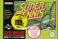 Super Tennis m. kasse og manual