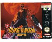 Duke Nukem 64 m. kasse (slidt)  og manual