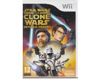 Star Wars : The Clone Wars : Republic Heroes u. manual (Wii)