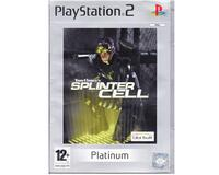 Splinter Cell (platinum) u. manual (PS2)