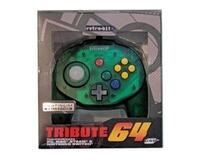 Retro-Bit Tribute 64 til USB (Forest Green) (ny vare)