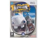 Rayman Raving Rabbids 2 u. manual (Wii)