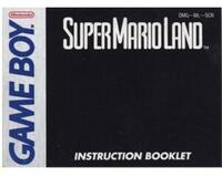 Super Mario Land (SCN) (GameBoy manual)