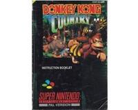 Donkey Kong Country (scn) (slidt) (Snes manual)