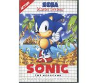 Sonic The Hedgehog m. kasse og manual