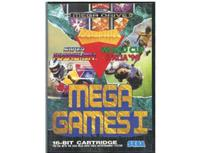 Mega Games I m. kasse og manual