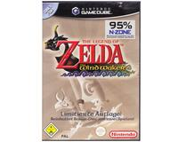 Zelda : The Wind Waker m. bonus Disk u. manual (tysk cover) (cder slebet) (GameCube)