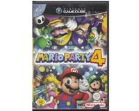 Mario Party 4 (tysk cover og manual) (GameCube)