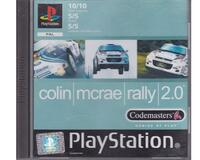 Colin Mcrae Rally 2.0 (fransk kasse og manual  (PS1)