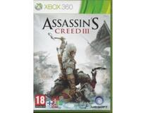 Assassin's Creed III (classic) (Xbox 360)