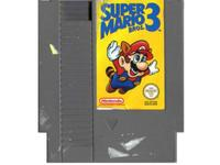 Super Mario Bros. 3 (dårlig label) (NES)
