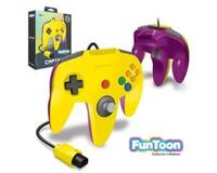 "N64 joypad ""Captain"" (Rival Yellow) (uorig) (Ny vare)"