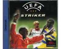 Uefa Striker m. kasse og manual (Dreamcast)