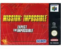 Mission Imposible m. kasse og manual