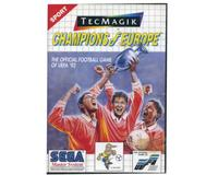 Champion of Europes m. kasse og manual