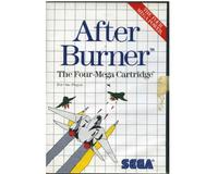 After Burner m. kasse og manual