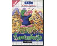 Lemmings m. kasse og manual