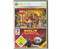 Lego Indiana Jones : The Original Adventure/Kung Fu Panda (Xbox 360)