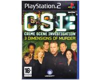 CSI : 3 Dimensions of Murder (PS2)