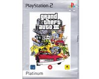 Grand Theft Auto 3 (platinum) (PS2)