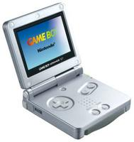 Game Boy Advance SP (Silver) (skrammer)